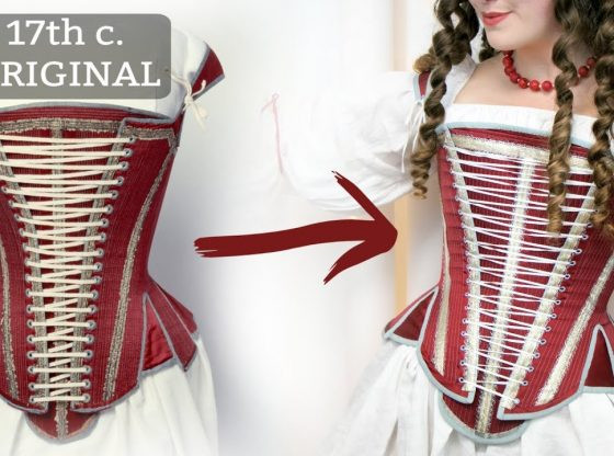 Making 17th Century Stays – Historical Corsetry | Seattle