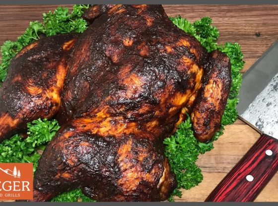 Juicy Traeger Grill Smoked Chicken