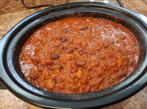 Make Ahead Freezer Chili - Crock Pot